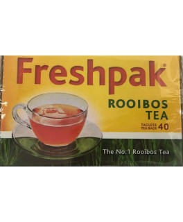 Freshpak Rooibos Tea: 40 tagless tea bags