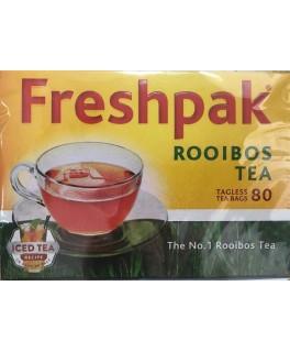 Freshpak Rooibos Tea: 80 tagless tea bags